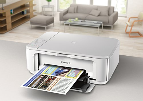 Canon PIXMA MG3620 Wireless All-In-One Color Inkjet Printer with Mobile and Tablet Printing, White by Canon (Image #2)