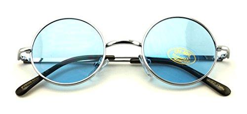 Small Round Hipster Fashion Sunglasses Lennon Elton Potter - Elton John Blue Glasses