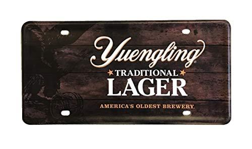 Yuengling License Plate Metal Bar Tacker Beer Sign