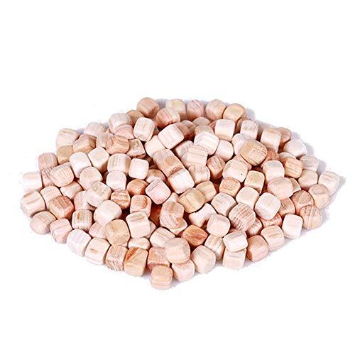 Natural Hinoki Cypress Wood Cube Chips Phytoncide Effect 1.1Ib ()