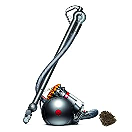 214887-01 Dyson Big Ball Multifloor Canister Vacuum, Bagless HEPA Filter Parts Pro Upright Cleaners (Complete Set), with Bonus Premium Microfiber Cleaner Bundle