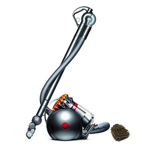 214887-01 Dyson Big Ball Multifloor Canister Vacuum, Bagless HEPA Filter Parts Pro Upright Cleaners (Complete Set) w/Bonus: Premium Microfiber Cleaner Bundle