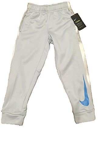 Jordan Elephant Print Basketball Pants (Wolf Grey, 7(6-7YRS)) (Nike Therma Fit Pant)