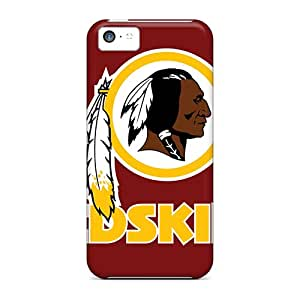 New Shockproof Protection Case Cover For Apple Iphone 5c/ Washington Redskins Case Cover