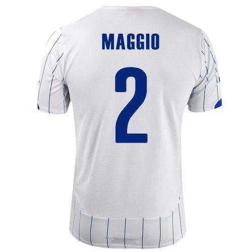 アルバニー目立つ作業PUMA MAGGIO #2 ITALY AWAY JERSEY WORLD CUP 2014/サッカーユニフォーム イタリア代表 レプリカ?アウェイ用 ワールドカップ2014 背番号2 マッジョ