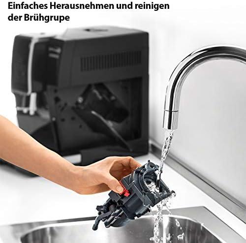 De'Longhi Dinamica, Machine expresso avec broyeur, technologie exclusive boissons lactées, ECAM350.55.B, Noir