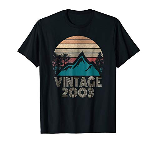 Classic Vintage 2003 15th Birthday Gift T-Shirt ()