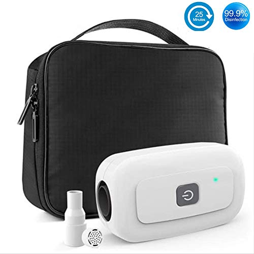 Amazing Automatic Sanitizer Machine Protable CPAP Cleaner and Sanitizer Bag Hot Sale Sanitizer for Mask Heated Hose Pipe Tube Accessories 2019