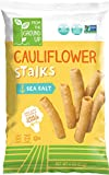 Real Food From The Ground Cauliflower Stalks - 6 Count, 4oz Bags (Sea Salt)