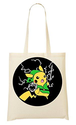 Borsa Pikachu Zelda Fulmine Of Della Legend Acquisto Bag 4OqRBw