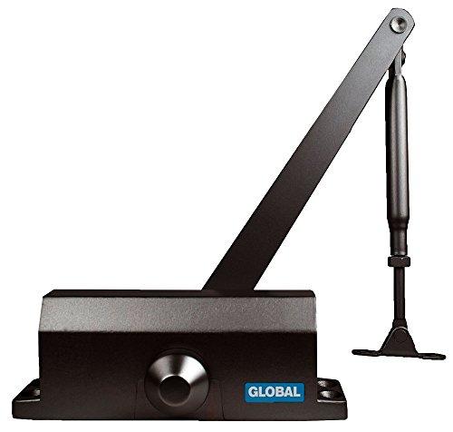 Global Door Controls TC304-DU TC300 Series Light Duty Closer in Durontic Finish-Grade 3 by Global Door Controls