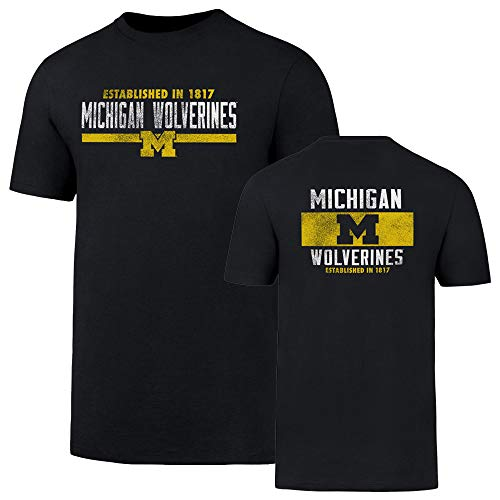 - NCAA Michigan Wolverines Men's OTS Rival Tee, Fall Navy, Small