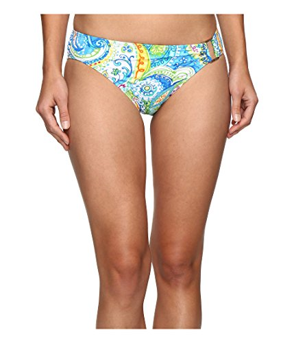 Lauren Ralph Lauren Women's Carnival Paisley Ring Hipster Bottom Blue Swimsuit Bottoms