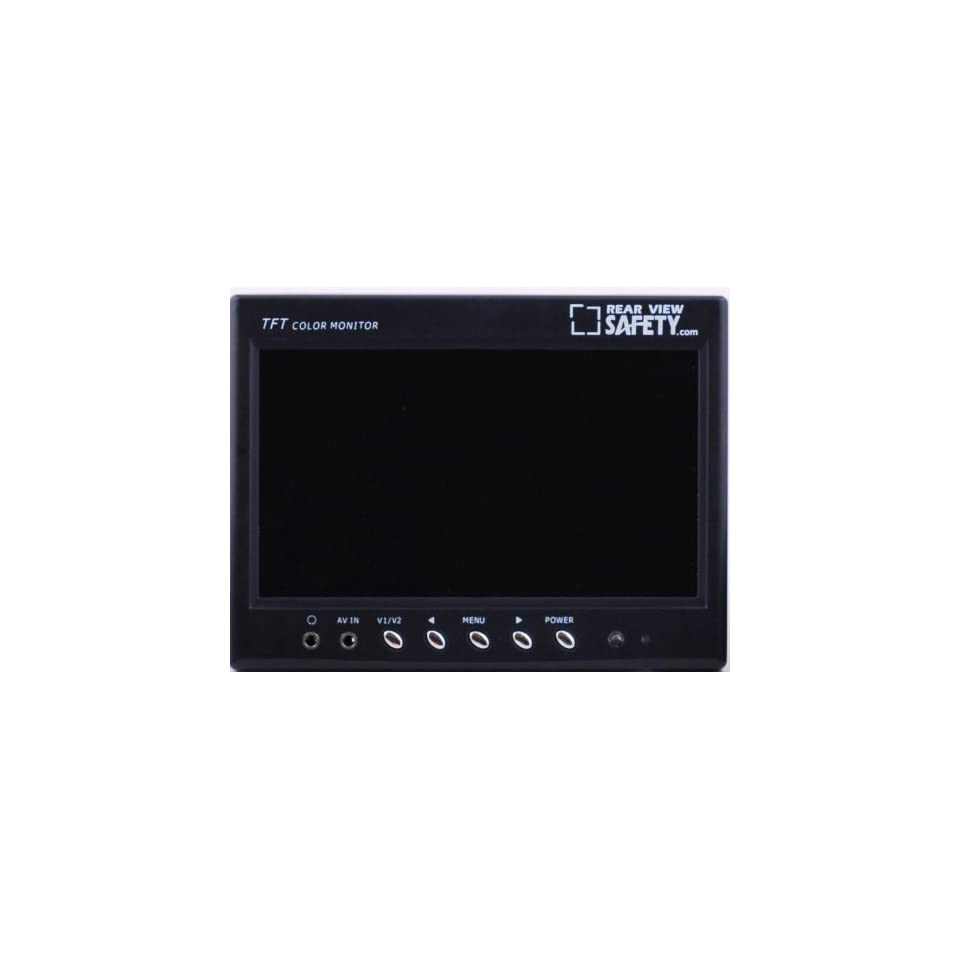 7 TFT LCD Digital Color Monitor Display with RCA Connections