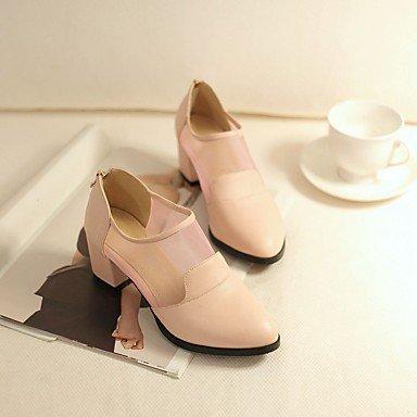 Femmes 039s Sandales Confort Pu Printemps Confort Informel Blanc Noir Flatlight Pinkus6 Eu36 Uk4 Cn36