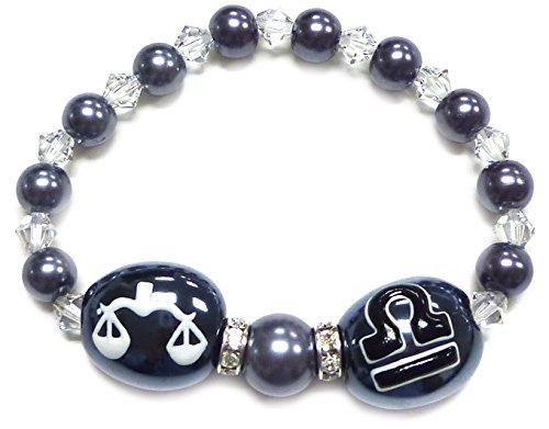 Zodiac Stretch Bracelet/ Length 7.5
