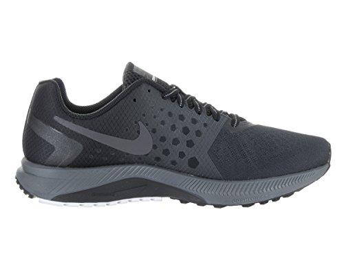 Nike Herren Zoom Spannweite Shield Laufschuh Black/Mtlc Dark Grey Anthracite