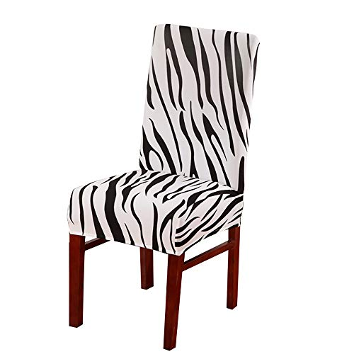 Feitengtd Spandex Dining Room Wedding Banquet Elastic Comfortable Chair Cover