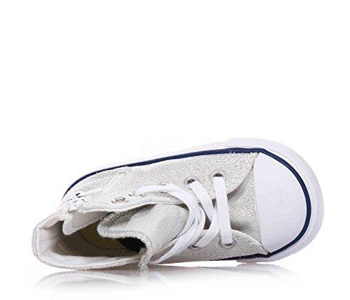 Converse Chuck Taylor Hi Side Zip Canvas mädchen, synthetisch, sneaker high