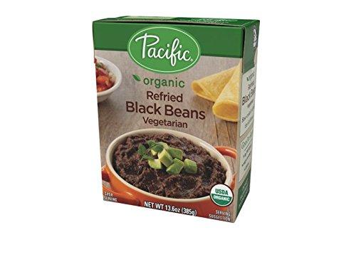 Pacific Foods Organic Refried Black Beans Vegetarian, 13.6 oz