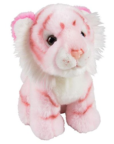 ffed Pink Tiger Plush Floppy Animal Heirloom Brights Collection ()