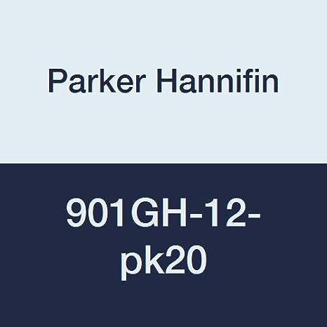 Parker Hannifin 901GH-12 Brass Garden Hose Fitting Washer 3//4 Hose Thread 3//4 Hose Thread Parker Hannifin Corporation