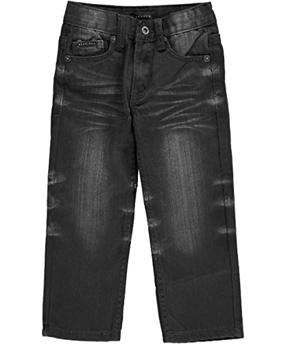 "Sean John Little Boys' Toddler ""Vortax"" Slim Fit Jeans - black, 2t"