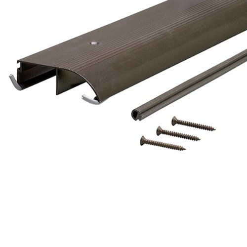 M-D Building Products 69709 1-1/4-Inch by 4-Inch by 72-Inch TH153 Bumper Threshold, Bronze