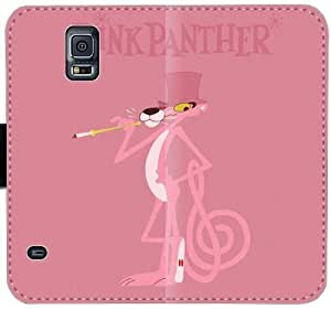 Pantera Rosa R0D0R Funda Samsung Galaxy Note 4 cubiertas de cuero caja de la carpeta del teléfono funda 5605s0