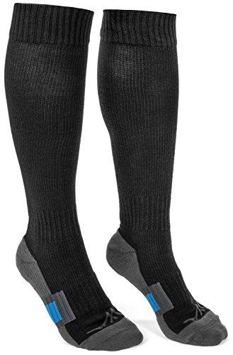 Wanderlust Air Travel Compression Socks - Premium Graduated Support Stockings For Men & Women - Prevents Swelling, Pain, Edema, & DVT! Great For Nurses, Airplane Flight, Running, Maternity, & More!