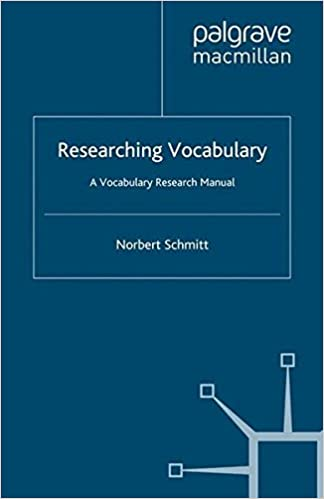 Amazon researching vocabulary a vocabulary research manual researching vocabulary a vocabulary research manual research and practice in applied linguistics 2010th edition fandeluxe Choice Image
