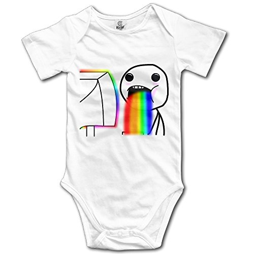 Price comparison product image Novelty Stick Figures Colorful Figure Drawing Baby Onesie Toddler Climb Jumpsuit
