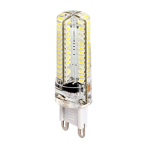 Ledbox LD1032517 - Bombilla LED, mini G9, 104 x SMD 3014, 5 W, 360º, color blanco frío: Amazon.es: Iluminación