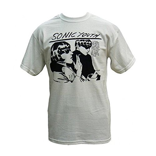 Sonic Youth Goo Men's White T-Shirt (S) (Super Sonic Costume)