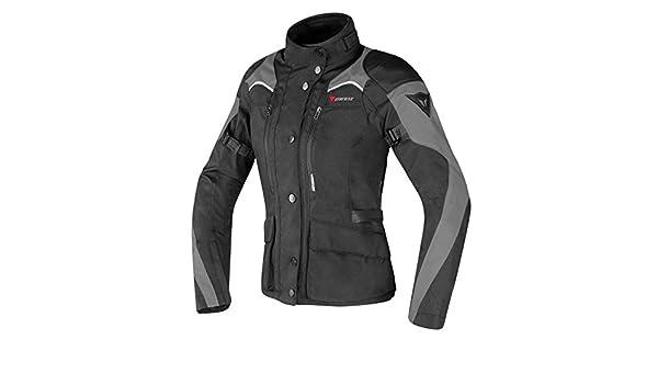 Amazon.com: Dainese Tempest D-Dry Womens Textile Motorcycle Jacket Black/Dark Gull Gray 42 Euro/4 USA: Automotive