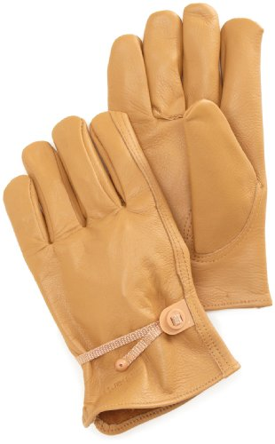 Carhartt Men's Full Grain Leather Driver Work Glove, Brown, X-Large