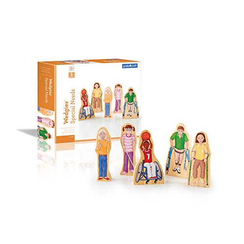 Guidecraft Wedgies Special Needs Children Set - Kids Learning & Educational Toys ()
