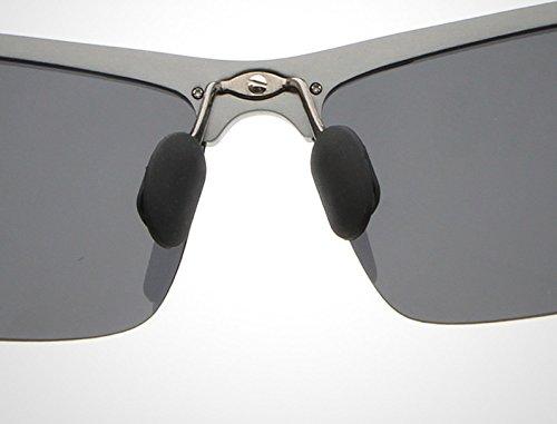 Sol Shuo Gafas los visión Hombres Profesionales gray de Color lan Gafas Red Yellow polarizadas Gafas Gray New Sol Noche Gafas de Masculina de Nocturna de 77wrfaq