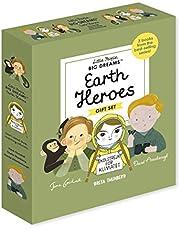 Little People, BIG DREAMS: Earth Heroes: 3 books from the best-selling series! Jane Goodall - Greta Thunberg - David Attenborough
