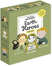 Little People, BIG DREAMS: Earth Heroes: 3 books from the best-selling series! Jane Goodall - Greta Thunberg -