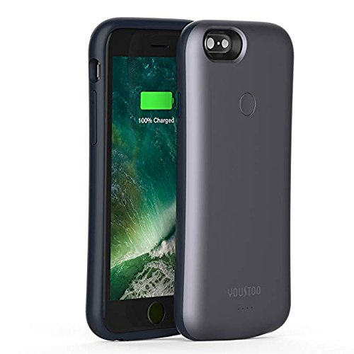 Iphone 3g Feather - iPhone 6/6S Wireless Charging Battery Case, YOUSTOO 2200mAh Portable Charging Case 80% Extra Battery for iPhone 6/6S (4.7 Inch)