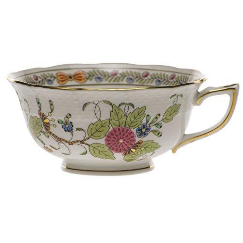 Herend Baskets - Herend Indian Basket Porcelain Tea Cup
