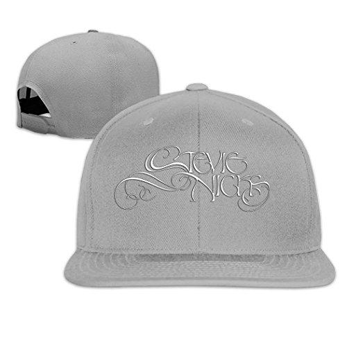- Moses Stevie Nicks Fashion Signature Fashion Adjustable Hip-Hop Cap Gray