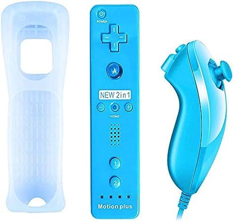 Qumox Wii Wireless Remote Controller Eingebauter 2in1 Elektronik
