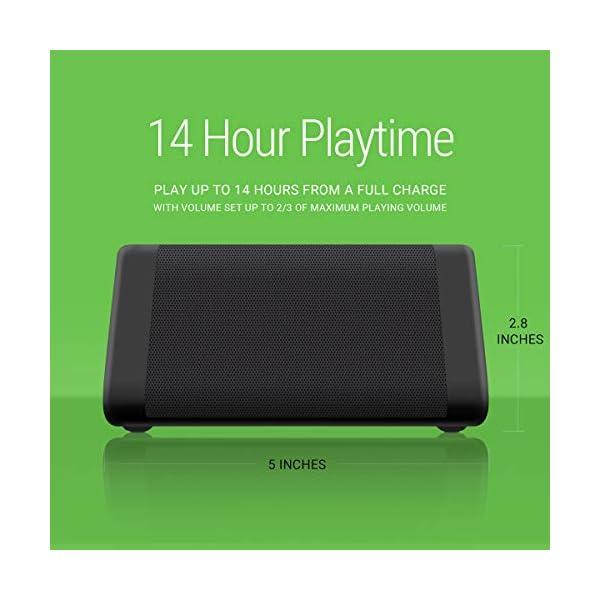 Oontz Angle Enhanced Stereo 14 hours playtime