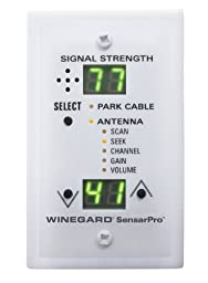 Winegard RFL-342 SensarPro White TV Signal Strength Meter