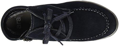 ara Damen Rom-Sport-St Mokassin Stiefel Blau (ozean 85)