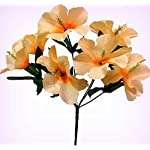 Inna-Wholesale-Art-Crafts-New-5-Hibiscus-Peach-Silk-Decorating-Flowers-Bridal-Bouquets-Centerpieces-Decoration-Perfect-for-Any-Wedding-Special-Occasion-or-Home-Office-Dcor