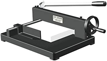 QCM Solid Blade Non-Skid Foundation Guillotine Paper Cutter