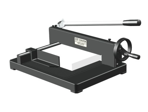 - QCM 8200M Heavy Duty Desktop Stack Paper Cutter